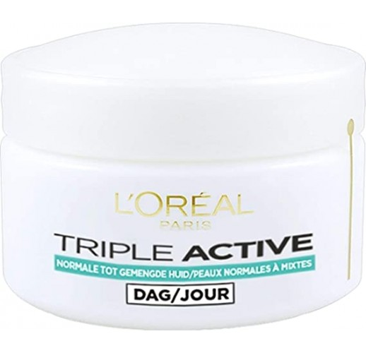 L 'Oreal Triple Active Multi-Protective Day Cream 24h Hydration – For Normal/Combination Skin 50 ml