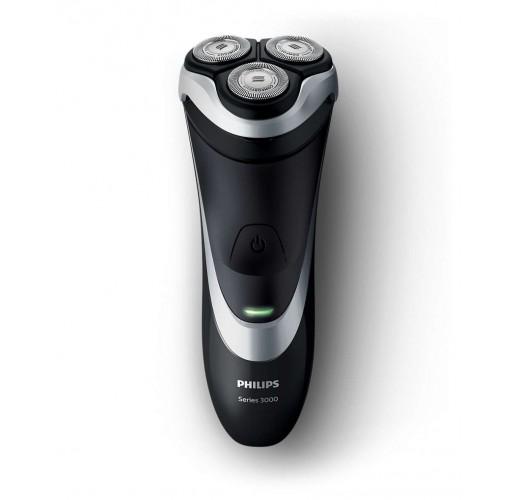 Philips SHAVER Series 3000 S3540/06 Rotation Shaver Black, White – Shaver (Rotation Shaver, SH30, 2 Years (s), Black, White, AC/Battery, Lithium-Ion (Li-Ion)