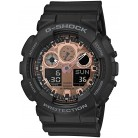 Casio Mens Analogue-Digital Quartz Watch with Plastic Strap GA-100MMC-1AER